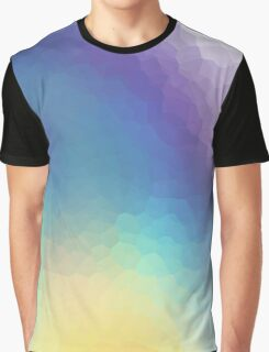 Mosaic holographic texture Graphic T-Shirt