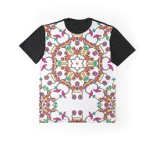 Psychedelic Magic Mushroom Ornament 0006 Graphic T-Shirt