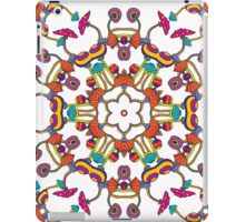 Psychedelic Magic Mushroom Ornament 0006 iPad Case/Skin