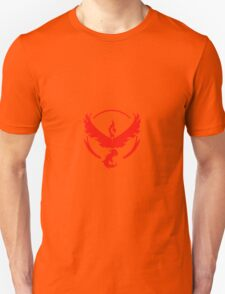 Pokemon Go Team Valor Logo Unisex T-Shirt
