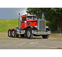 1972 Peterbilt '358' Truck 3 Photographic Print
