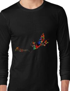 Feather Music Long Sleeve T-Shirt
