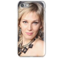blond  Portrait  iPhone Case/Skin