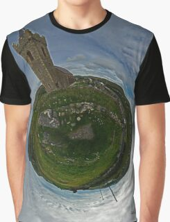 Glencolmcille Church - Sky Out Graphic T-Shirt