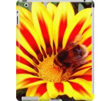 Bumble Bee in a Flower iPad Case/Skin