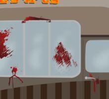 Zombie Truck Sticker