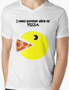 slice of pizza Mens V-Neck T-Shirt