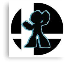 SUPER SMASH BROS: Mega Man-Wii U Canvas Print