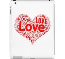 Love - Red Heart iPad Case/Skin
