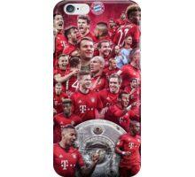 FC Bayern Munich (T-Shirt, Phone Case & more) iPhone Case/Skin