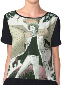 Genesys and Jesse from Preacher Chiffon Top