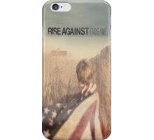 Rise Against Endgame Edit iPhone Case/Skin