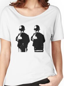 Banksy - Rude Coppers Women's Relaxed Fit T-Shirt