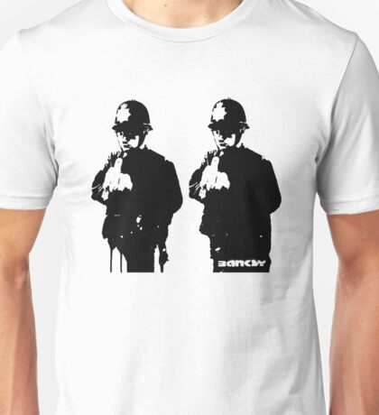 Banksy - Rude Coppers Unisex T-Shirt