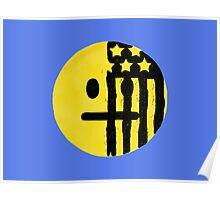 American Beauty/American Psycho Emoji Poster