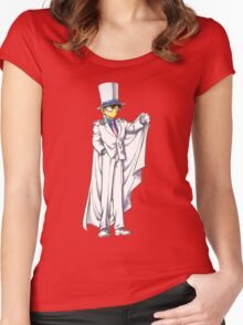 Kaito detective conan Women's Fitted Scoop T-Shirt