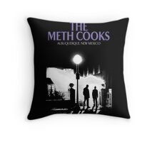 The meth cooks Throw Pillow