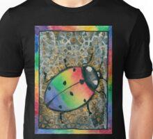 Rainbow Ladybug Unisex T-Shirt
