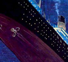 Titanic Sinking Sticker
