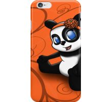 Happy Panda Floral iPhone Case/Skin