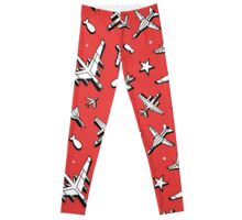 Red Dawn Leggings