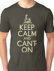 Keep Calm and Canton (faux vintage) Unisex T-Shirt
