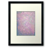 Hologram Galaxy Framed Print