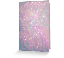 Hologram Galaxy Greeting Card