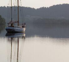 Dreamy Morn, Soft Light (Johnstone River, Innisfail, Qld. AU) Sticker
