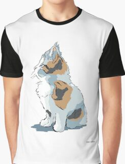 WATCHING THE WORLD GO BY Graphic T-Shirt