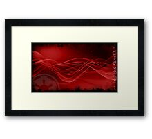 Sith Star Wars Red Space Framed Print