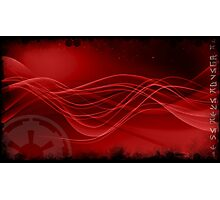 Sith Star Wars Red Space Photographic Print