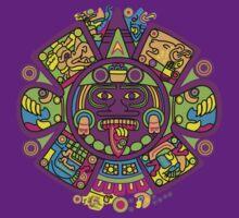 Crazy Aztec Art by sohippy