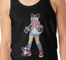 Panda Girl Tank Top