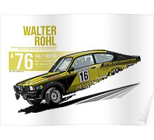 Walter Rohl - 1976 Sweden Poster