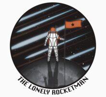 The Lonely Rocketman Kids Tee