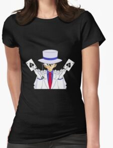 Kaito detective conan Womens Fitted T-Shirt