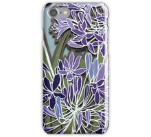 Agagapanthus papercut iPhone Case/Skin