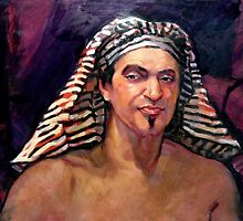 Egyptian Man by Roz McQuillan