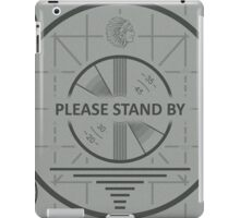 Please Standby iPad Case/Skin