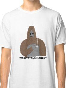smoking yeti  Classic T-Shirt