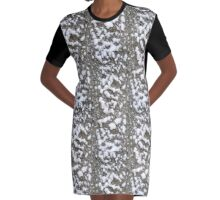 The snow . Graphic T-Shirt Dress