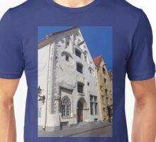 The Three Sister's Houses Tallinn Old Town Estonia Unisex T-Shirt