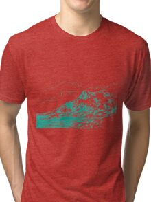 Turquoise Sands Tri-blend T-Shirt