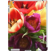 Super tulips iPad Case/Skin