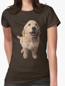 Puppy! Retriever! Womens Fitted T-Shirt