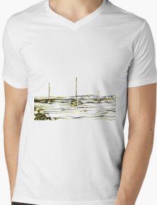 Masts Mens V-Neck T-Shirt
