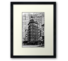 Columbus Tower Framed Print