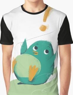A little cute penguin is enjoying skiing Graphic T-Shirt