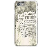 Remember November iPhone Case/Skin